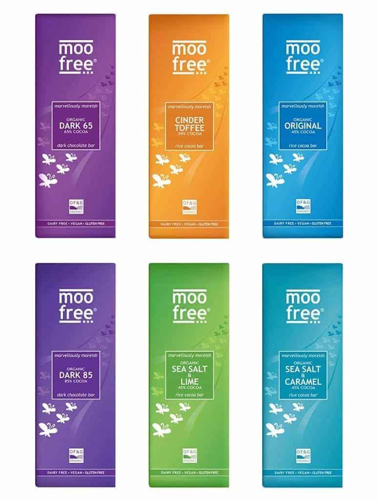 Moo Free - Vegan Chocolate Bars