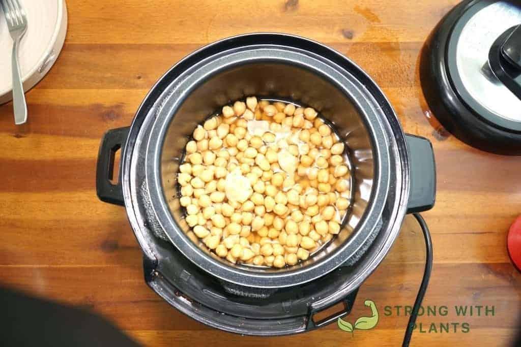 Pressure Cooking Chickpeas