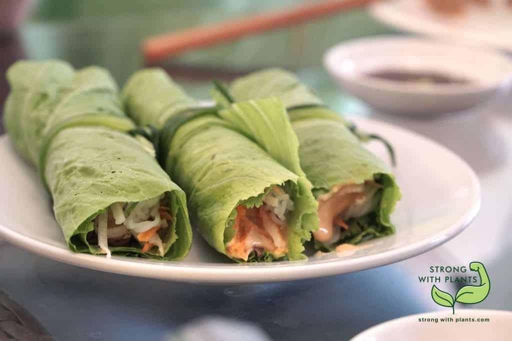 Vietnamese Fresh Rolls from Sesame Restaurant