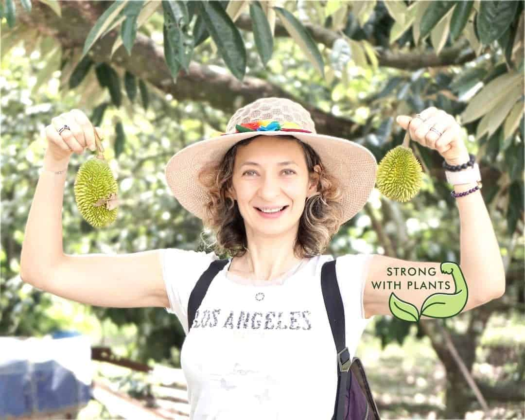 Visiting Organic Farm for Best Durian