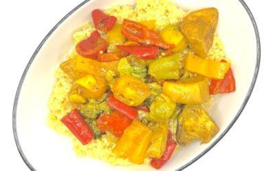 Jamaican-Inspired Vegan Curry