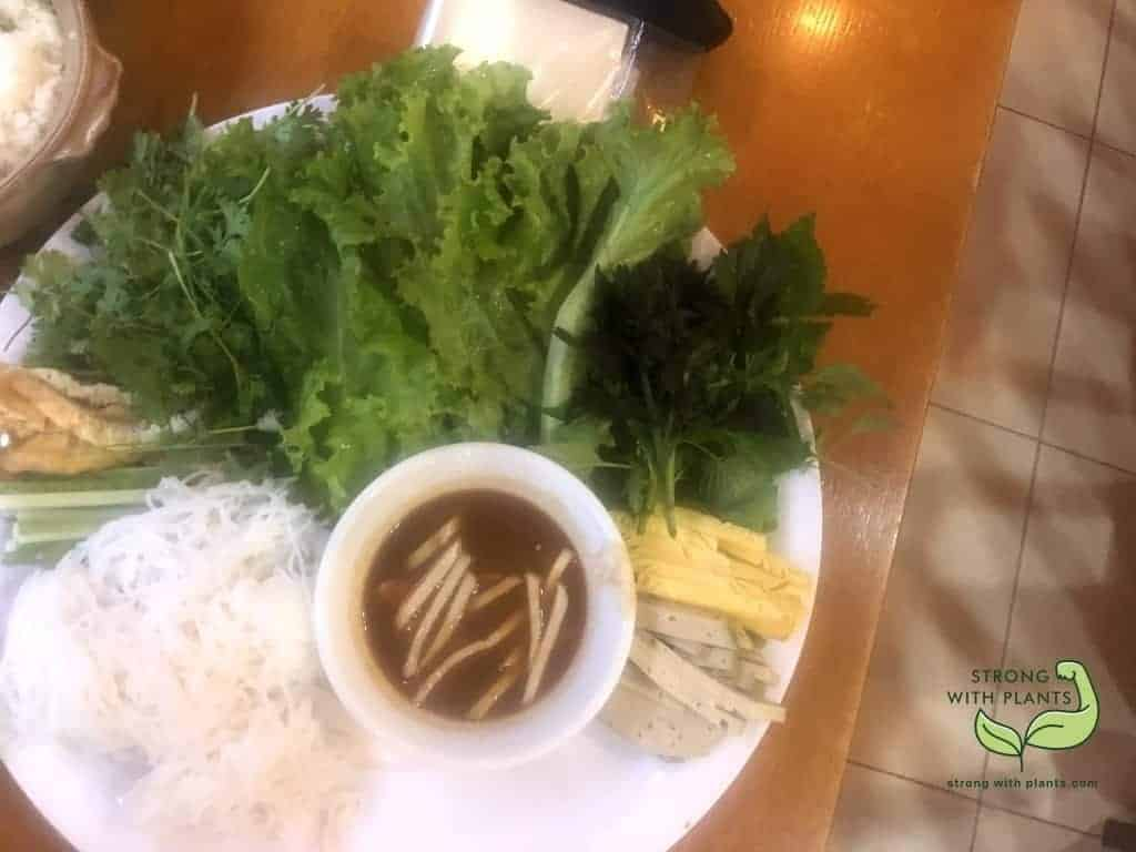 Lotus Mushroom Sauce Rice Noodle Bun Mam Hoa Sen