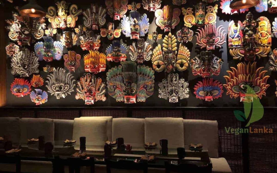 Kaema Sutra Bar/Restaurant, Shangri-La Hotel with Vegan Options