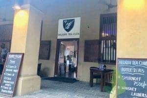 Heladiv Tea Club in Colombo with Vegan Food