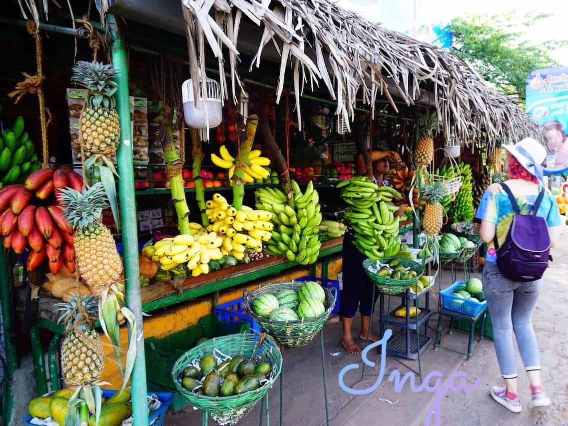 Bananas for Sale in Negombo Sri Lanka