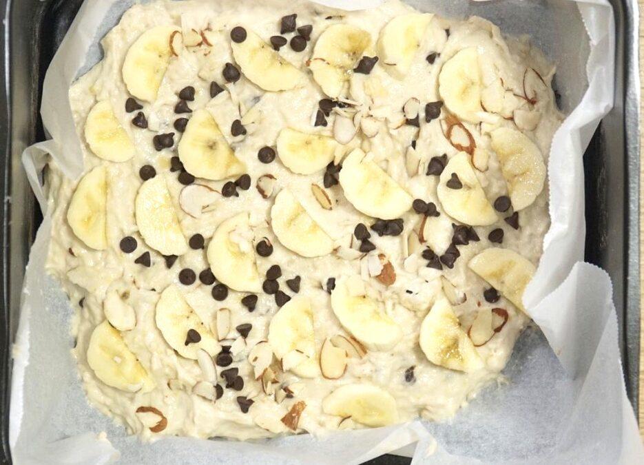Air-Fried Vegan Banana Bread