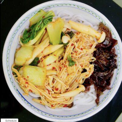 Noodle-Shroom Stir-Fry