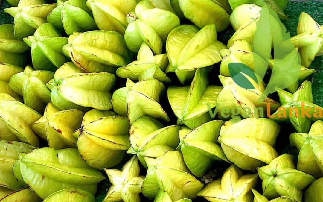 Starfruit and Carambola – Fruits You Must Try in Sri Lanka