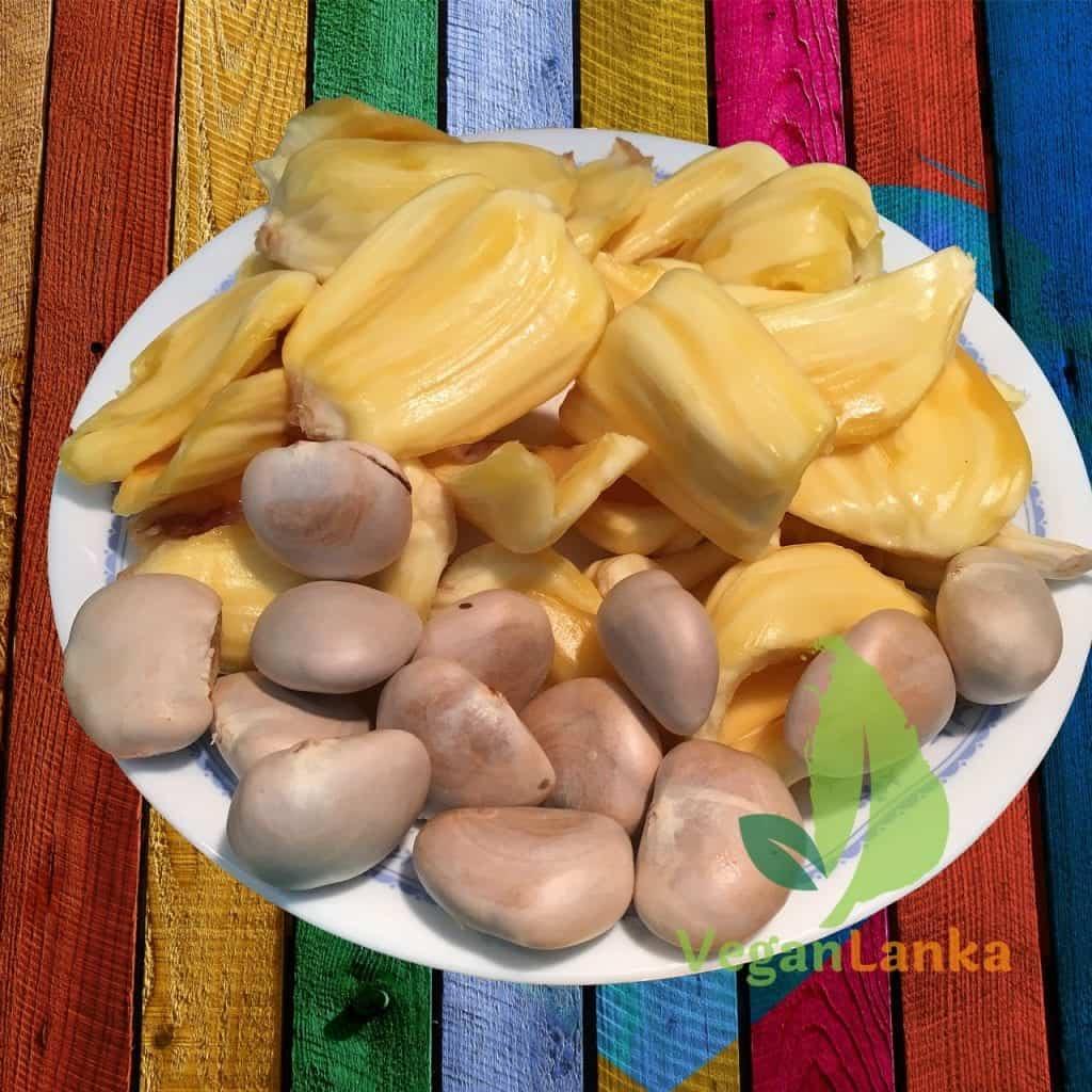 Mature Jackfruit Seed - Vegan Lanka